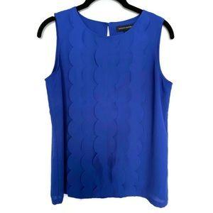 Banana Republic Sleeveless Blouse Blue Size XS